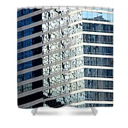 Hong Kong Architecture 64 Shower Curtain