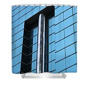 Hong Kong Architecture 66 Shower Curtain