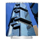 Hong Kong Architecture 69 Shower Curtain