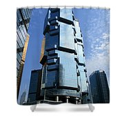 Hong Kong Architecture 73 Shower Curtain