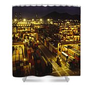 Hong Kong Container Terminal, One Shower Curtain