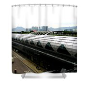 Hong Kong Cruise Terminal 2 Shower Curtain