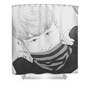 Hongseobi  Shower Curtain