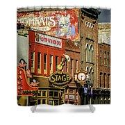 Honky Tonk Row - Nashville Tn Shower Curtain