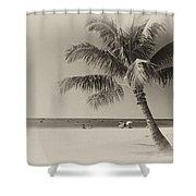 Honolulu Beach Shower Curtain