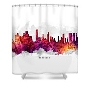 Honolulu Hawaii Cityscape 14 Shower Curtain