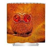 Hoo Me Shower Curtain