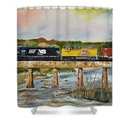 Hooch - Chattahoochee River - Columbus Ga Shower Curtain