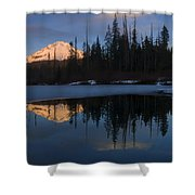 Hood Alpenglow Shower Curtain