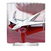 Hood Ornament Shower Curtain