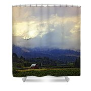 Hood River - Season Of Beauty Shower Curtain