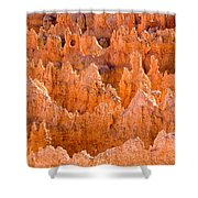 Hoodoos And Other Eroded Cliffs Light Shower Curtain