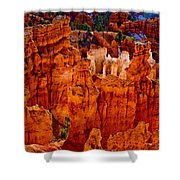 Hoodoos Bryce Canyon Shower Curtain