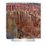 Hoodoos Bryce Canyon-utah Shower Curtain