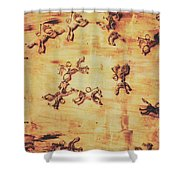 Hoofs Parade Shower Curtain