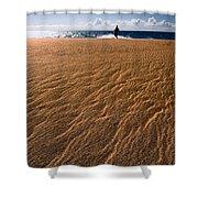 Ho'okahi - A Stroll Along A Beach Shower Curtain