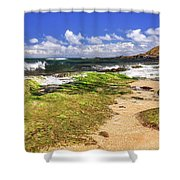 Ho'okipa Beach Maui Shower Curtain