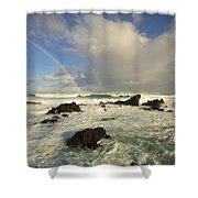 Hookipa Beach Shower Curtain