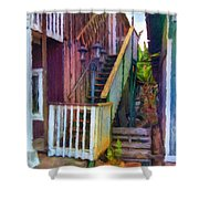 Hookipa Stairway Shower Curtain