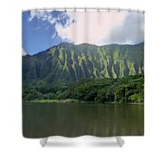 Hoolanluhia Botanical Garden Shower Curtain