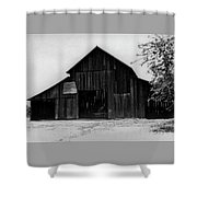 Hoops At The Barn Shower Curtain