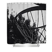 Hoops Shower Curtain