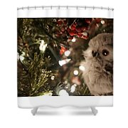 Hooty Owl Shower Curtain