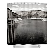 Hoover Dam Intake Towers #2 Shower Curtain