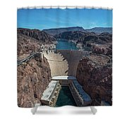 Hoover Dam Shower Curtain