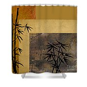 Hope And Bamboo Shower Curtain
