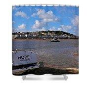 Hope Appledore Devon Shower Curtain