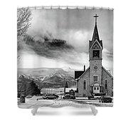 Hope Evangelical Lutheran Church Shower Curtain