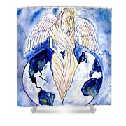 Hope For A Broken World Shower Curtain
