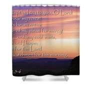 Hope For Morning Shower Curtain
