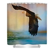 Hope In The Lord Shower Curtain
