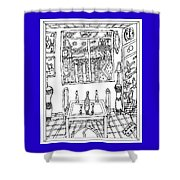 Hope On The Table Shower Curtain