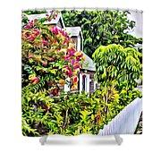 Hopetown Gardens Shower Curtain