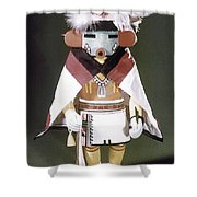 Hopi Kachina Doll Shower Curtain
