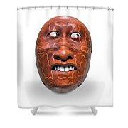 Hopi Mask Three Shower Curtain