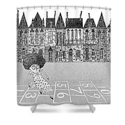 Hopscotch  Shower Curtain