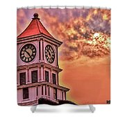 Hoptown Time Shower Curtain
