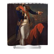 Horatio Nelson - Viscount Nelson Shower Curtain