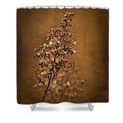 Horicon Marsh - Wildflower Golden Glow Shower Curtain