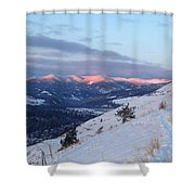 Horizon Light Shower Curtain