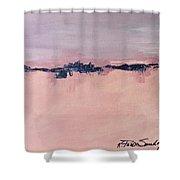 Horizons 1 Shower Curtain
