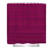 Horizontal Black Inside Stripes 30-p0169 Shower Curtain