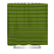 Horizontal Black Outside Stripes 30-p0169 Shower Curtain