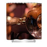 Horn At Rest Shower Curtain
