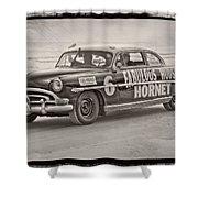 Hornet On Daytona Beach Shower Curtain