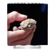 Horny Toad Shower Curtain